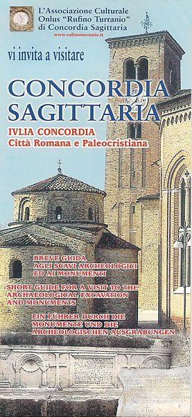 Breve guida formato pieghevole in 3 lingue (Italiano,Inglese,Tedesco) agli scavi archeologici ed ai monumenti principali.