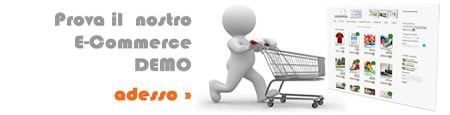 Creazione CMS, siti gestibili dal cliente, siti amministrabili - Prova la nostra demo E-commerce