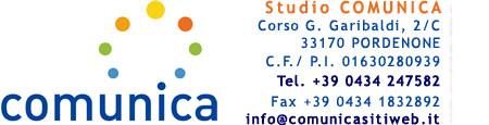 Creazione siti Internet professionali e posizionamento sito nei motori di ricerca a Pordenone e Portogruaro